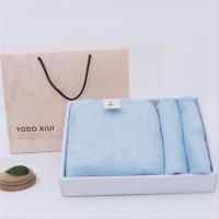 日本毛巾浴巾礼盒套装包装三件套结婚生日回礼 150x75cm