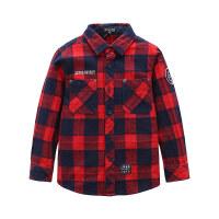 JEEP吉普4-12岁男童长袖衬衫JWW52070