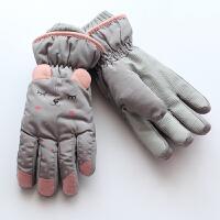 冬季冬天儿童滑雪手套 女童男童 加绒玩雪手套 小孩堆雪手套xx