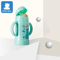 吸管杯宝宝学饮杯带吸管婴儿保温水杯防摔漏儿童幼儿园水壶a452