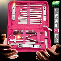 指甲刀套装德国工艺修脚手家用指甲剪钳不锈钢美甲工具可爱去死皮