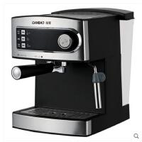 意式家用咖啡机商用全半自动高压蒸汽奶泡做意式咖啡