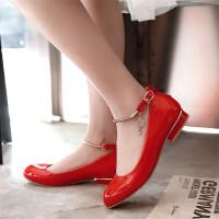 女童舞蹈鞋新款中大童学生公主皮鞋白色小女孩演出单鞋