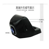 跨境专车隐藏式WIFI行车记录仪 1080P高清无屏行保质一年 黑色