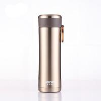 哈尔斯304不锈钢保温杯350ml 办公室直杯茶杯 便携水杯HW-350-32