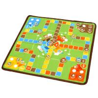 橙爱 益智双面棋飞行棋记忆棋 小学生成人益智桌面互动游戏儿童玩具
