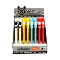 晨光可擦笔B9001 卡通中性笔 可擦全针管中性笔 0.5mm 学生热可擦水笔 笔杆颜色随机搭配