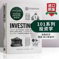 101系列 投资学 英文原版 Investing 101 金融投资 英文版原版书籍 精装 进口英语书 Michele