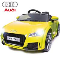 奥迪婴儿童电动车四轮汽车遥控可坐4-5岁童车1-3宝宝玩具车可坐人