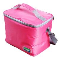 便当包带饭包帆布餐包拎包饭盒袋 小学生保温袋子