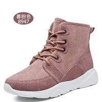 雪地靴女2018新款韩版百搭加绒靴子皮毛一体防滑舒适保暖单靴SN3645
