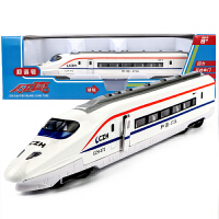 儿童玩具合金仿真火车模型玩具车地铁动车高铁和谐号男孩 和谐号动车-白色