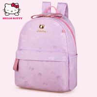 HelloKitty凯蒂猫 KT1137浅紫 儿童书包 女童韩版甜美 1-3年级减负护脊书包