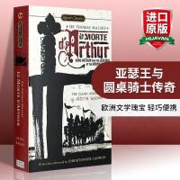 华研原版 亚瑟王之死 英文原版 Le Morte D'Arthur: King Arthur 亚瑟王与圆桌骑士传奇 英文