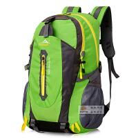 新款户外运动双肩包韩版男女防水登山包轻旅游背包电脑骑行书包