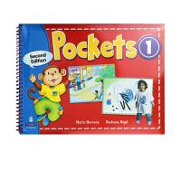 Pockets 1级别  幼儿英语 含学生用书+练习册+CD光盘  朗文Pocket幼儿启蒙教材