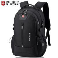 瑞士军刀双肩包男女大容量瑞士电脑旅行背包高中大学初中学生书包
