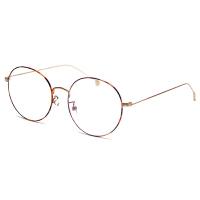 2018新品眼镜男防护金丝眼镜小脸平光镜女电脑圆框眼睛超轻蓝光无度数