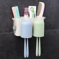 卫生间用品用具家用洗手间梳子置物架化妆品牙刷杯子架浴室收纳架