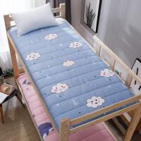 办公室折叠垫棉垫子软包冬天床垫学生宿舍铺子单人床加厚铺底防滑
