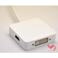 air pro 投影仪 mini dp转VGA HDMI DVI转接器 USB 视频