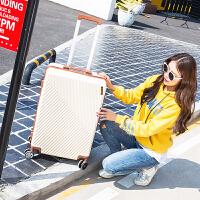 箱子行李箱皮箱拉杆旅行箱万向轮男女24寸韩版密码箱小清新登机箱SN8240