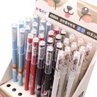 晨光AGP49004 签字笔学生 卡通中性笔 元气汪 全针管 黑色 水笔 0.35