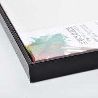 简约免装裱内嵌式L型油画外框丙烯画手绘数字油画DIY定制定做现代