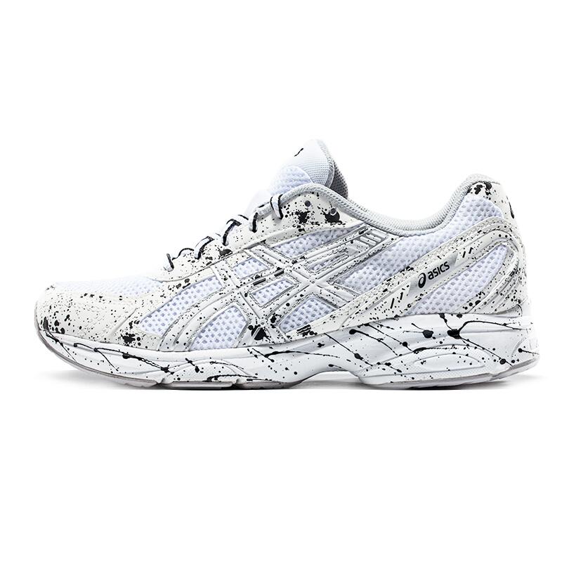 ASICS亚瑟士新款夏季透气网面跑步鞋缓冲跑鞋男小白鞋ASICS亚瑟士透气网面跑步鞋
