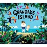 英文原版 爷爷的天堂岛 Benji Davies插画绘本 教孩子理解亲人的逝去 精装 Grandad's Island