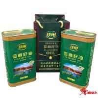 佳田-亚麻籽油2L(压榨)
