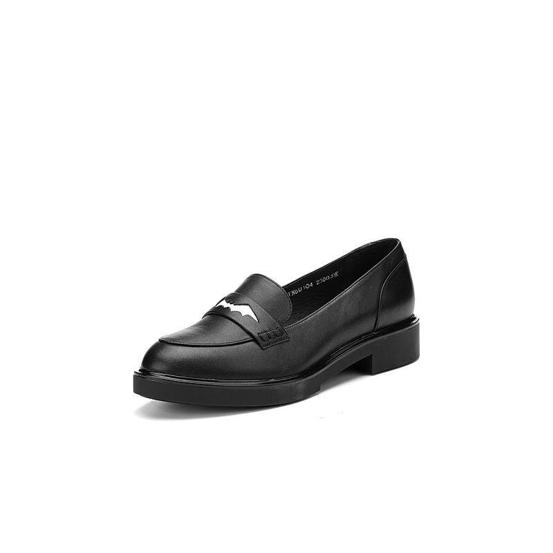 Teenmix/天美意2017春季牛皮洛丽塔女单鞋蝙蝠的假面6U104AQ7
