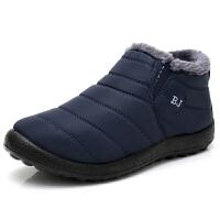 №【2019新款】冬天老年人穿的男士棉鞋加绒老北京布鞋防水男鞋中老年人爸爸鞋