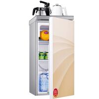 德姆勒(DEMULLER)98升冰箱 家用单门门茶吧冰箱 金色迷你单门冰箱 办公室时尚商务茶吧机电冰箱