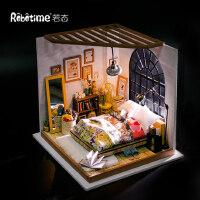 若态小房子拼装模型DIY小屋手工生日礼物礼品创意男生女生娃娃屋
