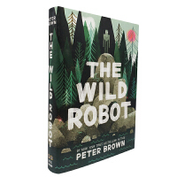 英文原版 The Wild Robot 疯狂机器人 [精装] [8-11岁]