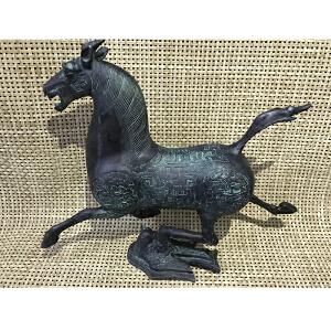 马踏飞燕现代工艺铜摆件