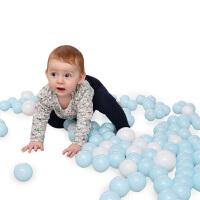 儿童海洋球塑料球1-2岁宝宝玩具彩色球