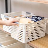 门扉 收纳筐 创意家居塑料厨房杂物水果收纳篮桌面零食收纳筐冰箱收纳
