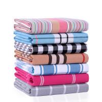 【质量超好】轻微瑕疵处理-棉加厚老粗布床单单件2*2.3米双人床单 乳白色 原白格