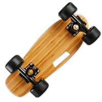 户外运动迷你小滑板 四轮单翘成人儿童小鱼板便携公路单翘板