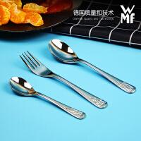 【�M口】WMF福�v��Zwerge�和�餐具叉勺子3件套不�P��W生�和�餐具