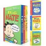英文原版章节书 Big Nate Triple Play 大内特Big Nate系列第1-3册3本盒装 青少年小说 章