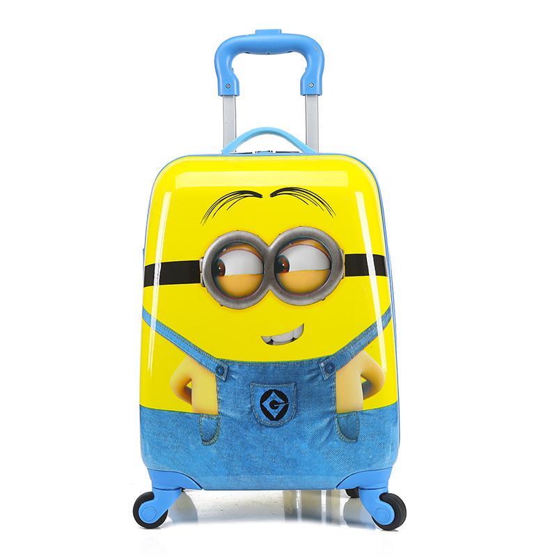 儿童旅行箱万向轮卡通行李箱大量18寸学生拉杆箱