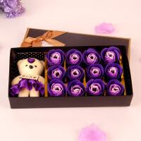 香皂花礼盒玫瑰花生日老公情人节礼物送男友送女友送老婆