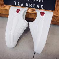 学生小白鞋女夏季2018新款舒适百搭韩版女鞋板鞋厚底软底透气鞋子hgl