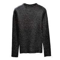 冬季韩版新款毛衣百搭修身半高领亮丝长袖针织衫女T恤打底衫厚