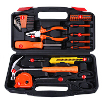 厚政 五金工具套装家用手动维修工具箱套装组套HZ6125A
