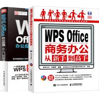 套装2本 WPS教程书籍2019 excel教程书 计算机应用基础 word excel教程书籍 Office办公软件