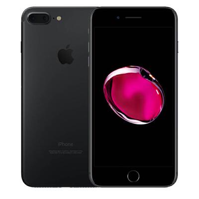 Apple iPhone 7 Plus 128G 黑色手机 支持移动联通电信4G可使用礼品卡支付 国行正品 全国联保